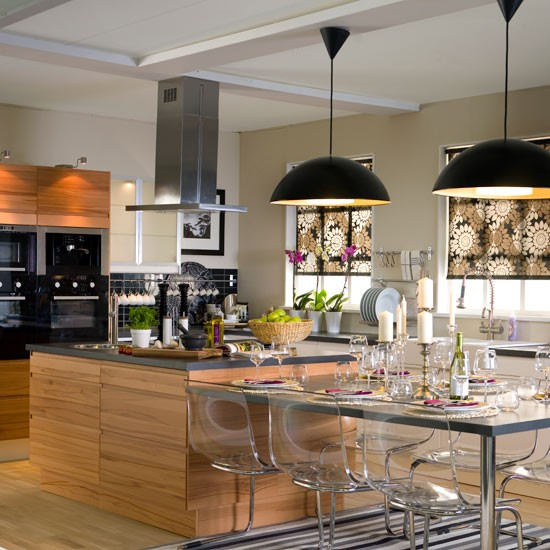 Pantaleon y las decoradoras qu se cuece for Kitchen lighting ideas b q