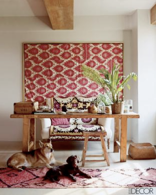 Ikat - Via Elle Decor