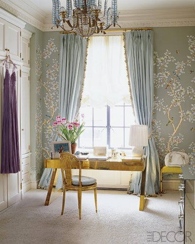 Aerin Lauder - dressing room