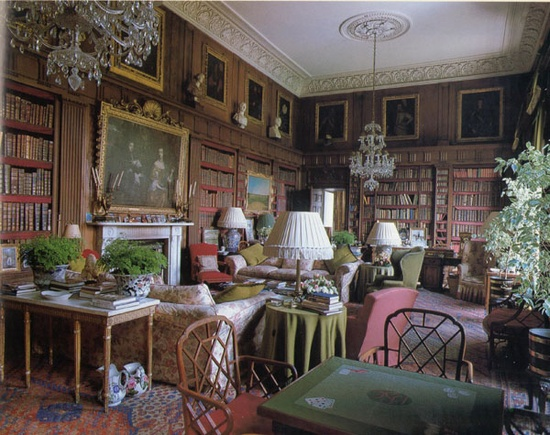 Biblioteca de Badmington House