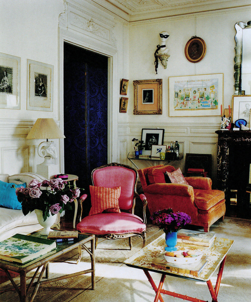 Apartamento en París de Hamish Bowles, vía The World of Interiors