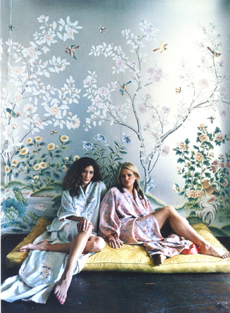 Vía Vogue. Papel De Gournay