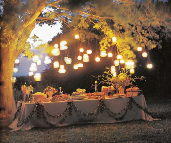 outdoor_space_-_outdoor_dining_-_flowers_-_romantic_buffet_table_-_lantern_chandeliers__-_outdoor_decor_and_design_-_dining_room_pillow_chairs_via_pinterest