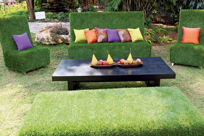 Tinas De Baño Viejas:Artificial Grass Furniture