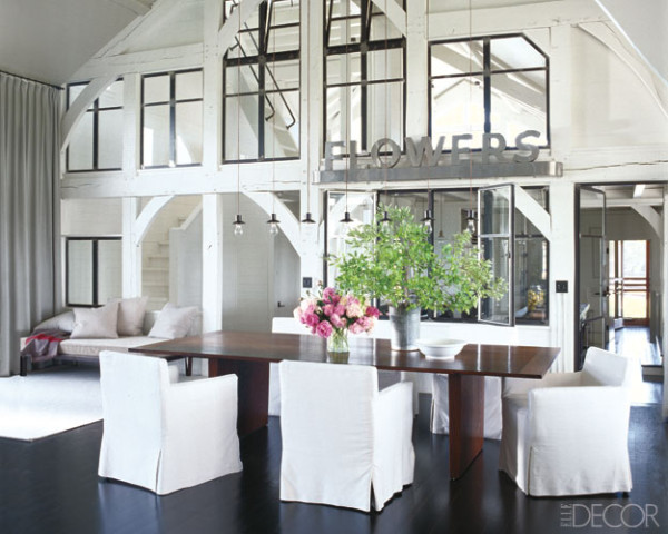 Casa de Meg Ryan, vía Elle Decor