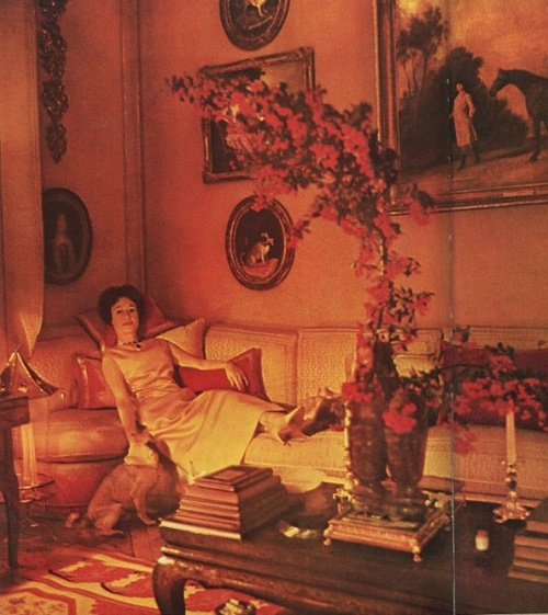 duchess of windsor at home vogue