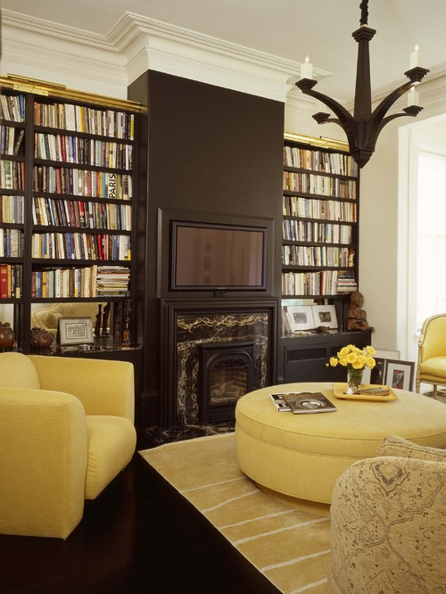 1 black wall houzz
